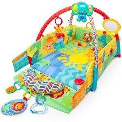 Bright Starts - Salteluta de Joaca 5in1 Sunny Safari Baby s Play Place
