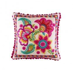 Perna decorativa Kaveri Multi, Kas, Kas23010, Multicolor, 45x45 cmv