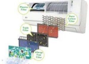 aparat de aer conditionat care are filtre de calitate