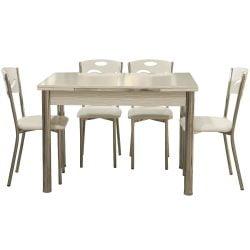 Masa extensibila cu 4 scaune