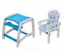 Scaun de masa pentru bebe transformabil