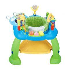 Centru de activitati M-Toys pentru bebelusi, Albastru