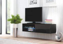 Comoda TV din MDF Livo RTV-120W Black