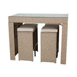 Set mobilier gradina Bar Kring Balcony, bar, 4 scaune, bej