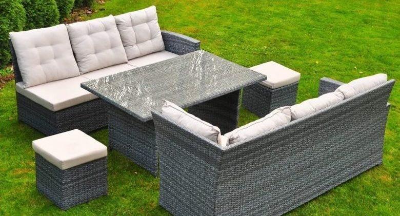 Bancuta si canapea pentru gradina de calitate