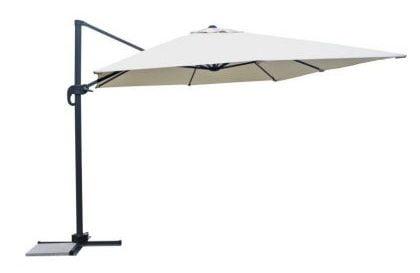 Umbrelelede gradina cu brat de sustinere lateral