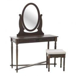 Masa de toaleta cu taburet Darcy