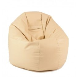 Fotoliu Pufrelax - Relaxo XL - Nude (piele ecologica)