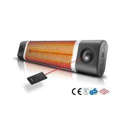 Panou radiant VEITO CH2500RW, 2500W, Fibra de Carbon