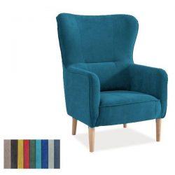 Fotoliu tapitat Relax Turquoise