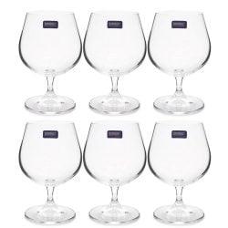 Set 6 pahare cristal coniac Banquet Bohemia