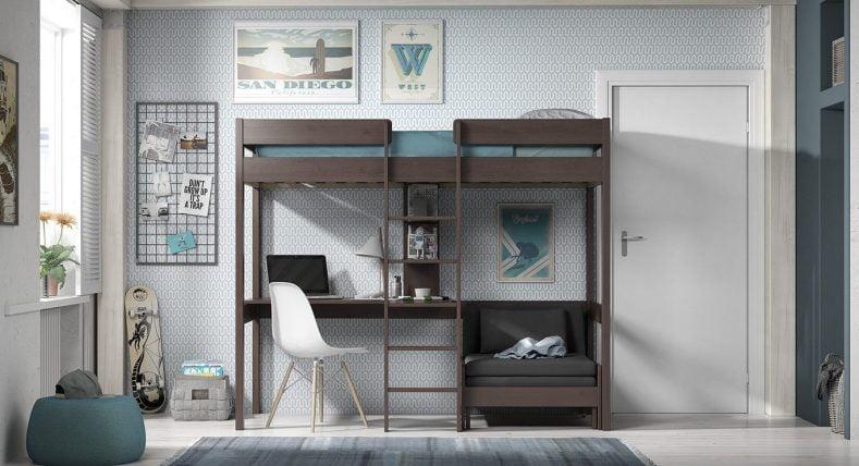 cel mai bun pat suprapus cu birou