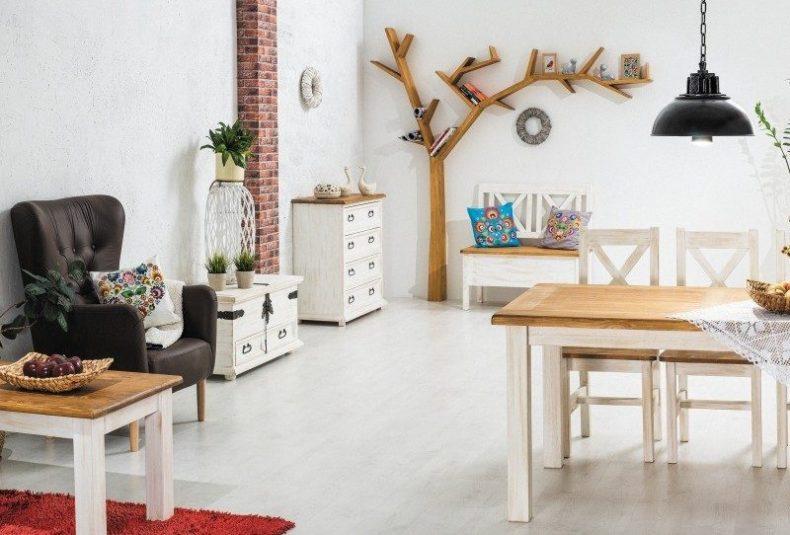 scaune sin lemn pentru living