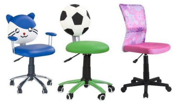 scaune pentru copii cu desene