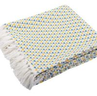 Pătură-pled Isocele Celadon
