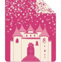 S.Oliver Patura roz cu alb si design castel