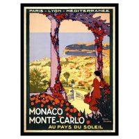 Poster de călătorie Monaco