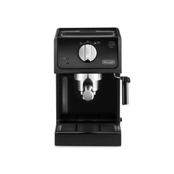 Expresor cu pompa DeLonghi ECP 31.21, 1.1 l, 1100 W, Negru