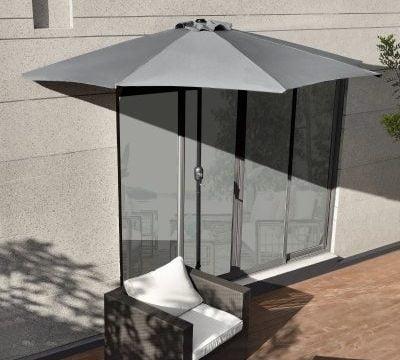 Cum alegi cea mai buna umbrela semirotunda pentru terasa