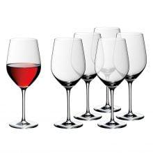 Set 6 pahare vin rosu Easy Plus, WMF