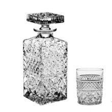 Set 7 piese whisky Madison, Bohemia Cristal