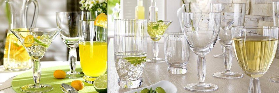 diferite tipuri de pahare din cristal