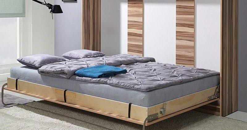 pat din lemn model rabatabil