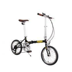Bicicleta Pegas Teoretic 7S, Pliabil, Negru stelar