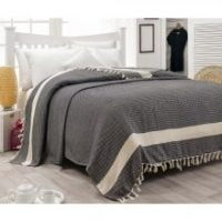 Cuvertură pentru pat din bumbac Hasir