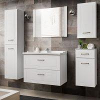 Set Mobilier pentru baie, 6 piese, Sophia White XL