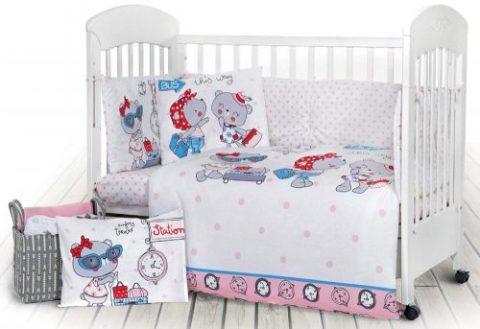 Set lenjerie de pat pentru bebe