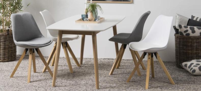 scaune scandinave pentru living