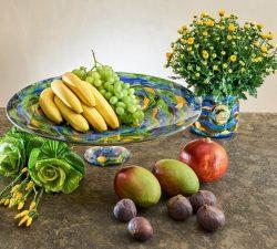 farfurie decorativa pentru fructe