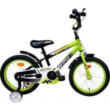 """Bicicleta copii Jolly Kids™ cu roti ajutatoare 16"""" IBY16"""