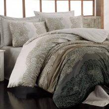Lenjerie de pat și cearșaf pentru pat dublu Safiye
