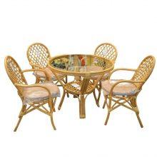 TEKZEN Set masa cu 4 scaune