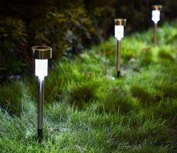 lampi solare cu montaj in pamant