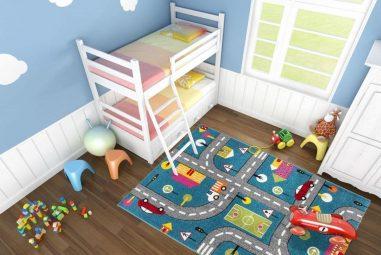 Cum alegi cele mai bune covoare pentru camera copiilor